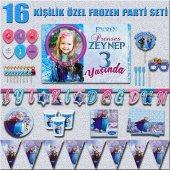 Afişli Frozen Karlar Ülkesi Elsa Doğum Günü...
