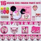 Afişli Minnie Mouse Mini Doğum Günü Parti...