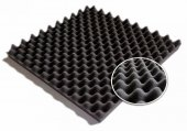 Ses Yalıtımı Akustik Yumurta Sünger 40mm Ebat 50x50