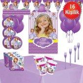 Afişli Sofia Prenses Sofia Doğum Günü Parti...