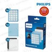 Philips Fc 8637 Powerpro Active Orjinal Hepa Filtre Seti + Sünger