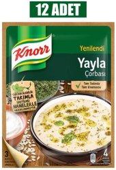 Knor Yayla Çorbası 74 Gr 12li Paket