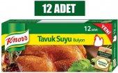 Knor Tavuk Suyu Bulyon 12 Adet 12li Paket