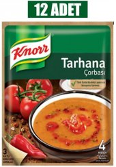 Knor Tarhana Çorba 75 Gr 12li Paket