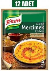 Knor Mercimek Çorba 76 Gr 12li Paket