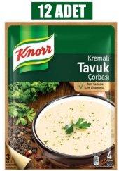 Knor Kremalı Tavuk Çorba 65 Gr 12li Paket