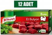 Knor Et Suyu Bulyon 6 Adet 12li Paket