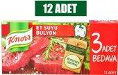 Knor Et Suyu Bulyon 12 Adet 12li Paket
