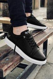 2020 Özel Tasarım Ortopedik Erkek Siyah Taban Beyaz Spor Ayakkabı