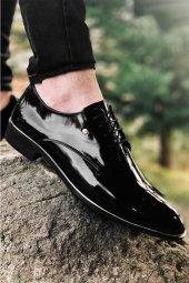 Tamboga570 Tamboga 570 Rugan Klasik Erkek Ayakkabı