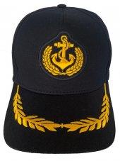 Felice Butik 1718 Kaptan Lacivert Kep Şapka