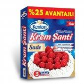 Kenton Krem Şanti Sade (3x75g) 25 Avantajlı...