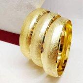 Altın Kaplama Bilezik 2 Cm Eninde 6.8 Cm Çapında Bilezik 044