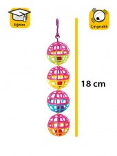 Karlie Plastik Kuş Oyuncaği 18cm