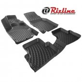 Rizline Dacia Lodgy 3D Havuzlu Paspas Siyah