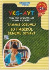 Akıllı Adam YKS AYT Türk Dili ve Edebiyatı Sosyal Bilimler 1 Tamamı Çözümlü 10 Fasikül Deneme Sınavı