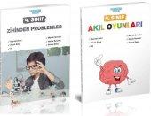 Akıllı Adam 4. Sınıf Zihinden Problemler + Akıl Ve Zeka Oyunları