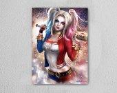 Harley Quinn Ahşap Poster Mdf Tablo