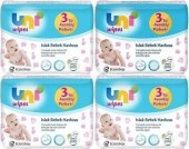 Uni Baby Wipes Islak Mendil 56lı Havlu Kapaklı 12 Li (3x4)