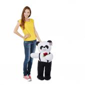 özgüner Ayakta Duran Siyah Tulumlu Panda Peluş...