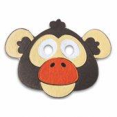 çocuk Maskesi Maymun Eğitici Drama Etkinlikleri