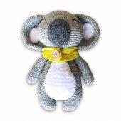 Uyku Arkadaşı Koala Lidia Organik Amigurumi Oyuncak