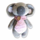 Uyku Arkadaşı Koala Lisa Organik Amigurumi Oyuncak