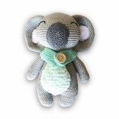 Uyku Arkadaşı Koala Loris Organik Amigurumi Oyuncak