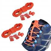 Kilitli Elastik Ayakkabı Bağcığı 100 Cm 2 Çift...