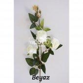 Yapay Çiçek Uzun Dal 3lü Gül 95 cm 5 Renk-3