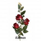 Yapay Çiçek Uzun Dal 3lü Gül 95 cm 5 Renk-4