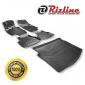 Ford Fiesta 2009-2013 3D Paspas Ve Bagaj Havuzu İkili Rizline