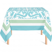Helen George Pastel Mavi Masa Örtüsü