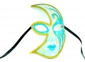 Pologift Özel Boyamalı Tasarım Balo Maskesi-3