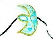 Pologift Özel Boyamalı Tasarım Balo Maskesi-4