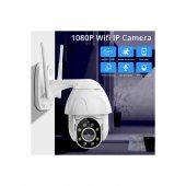 Kingboss 1080P HD Speed Dome Gece Görüşlü IP Kamera Motorlu Dış Mekan 355 Derece Dönerli-2