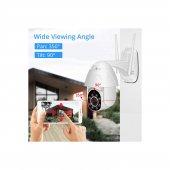 Kingboss 1080P HD Speed Dome Gece Görüşlü IP Kamera Motorlu Dış Mekan 355 Derece Dönerli-3