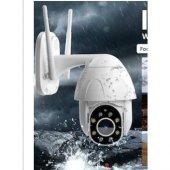 Kingboss 1080P HD Speed Dome Gece Görüşlü IP Kamera Motorlu Dış Mekan 355 Derece Dönerli-4