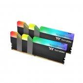 Thermaltake TOUGHRAM RGB 16GB (2x8GB) DDR4 3200Mhz CL16 Bellek (R009D408GX2-3200C16A) Siyah