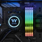 Thermaltake TOUGHRAM RGB 16GB (2x8GB) DDR4 3600Mhz CL18 Bellek (R009D408GX2-3600C18B) Siyah-3