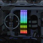 Thermaltake TOUGHRAM RGB 16GB (2x8GB) DDR4 3200Mhz CL16 Bellek (R022D408GX2-3200C16A) Beyaz-3