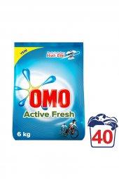Omo Matik Çamaşır Deterjanı Active Fresh 6 Kg