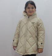 Badebaby Kız Çocuk Çaprazlı Kaban 5 8 Yaş K57