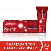 Colgate Optik Beyaz Parıldayan Beyazlık Diş...