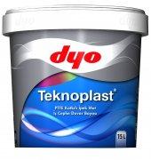 Dyo Teknoplast Teflonlu İç Cephe Boyası 2,5 Lt (Tüm Renkler)
