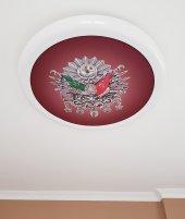 Resim ve Tablo Hazır Gergi Tavan Dekorasyon & Aydınlatma Modelleri LED