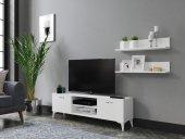 Motion 140 Cm Tv Ünitesi Beyaz( TAMAMI MDF )-2