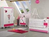 Sindy Büyüyebilen Bebek Odası Takımı Pembe