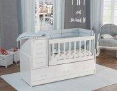 Hamak Bebek odası Takımı 3 kapılı beyaz-2
