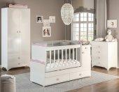 Büyüyen Bebek Odası Takımı Pembe